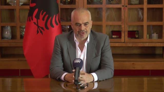 albania will prevent fetullah terrorist organization from influencing its education system, the nation's prime minister said. feto and its u.s.-based... - 説得点の映像素材/bロール