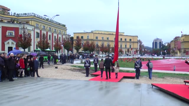 Albanian Independence Day which is also called Albanian Flag Day celebrated in Tiran Albania on November 28 2016