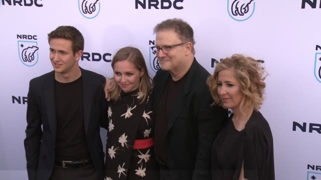 albert brooks at nrdc stand up for the planet la 2017 in los angeles ca - national resources defense council stock videos & royalty-free footage