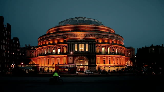 albert hall - royal albert hall stock videos and b-roll footage