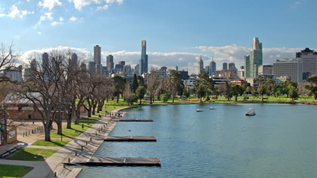 Albert Park Lake, Melbourne, Victoria