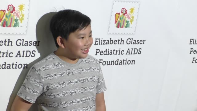 Albert Tsai at the Elizabeth Glaser Pediatric AIDS Foundation's 27th Annual A Time For Heroes on October 23 2016 in Hollywood California