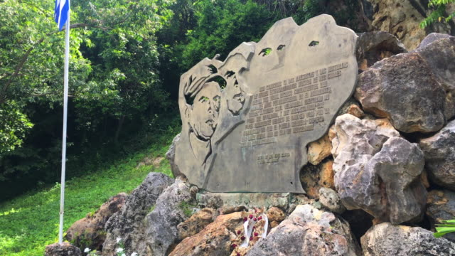 alberto delgado delgado or the man of masinicú was a cuban revolutionary fighter who was killed by the counterrevolutionary bands which he had... - sancti spiritus province stock videos and b-roll footage