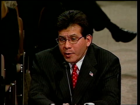Alberto Gonzales Presidential Nominee for Attorney General TMS SIDE Gonzales speaking Alberto Gonzales speaking SOT what I can say is that after this...