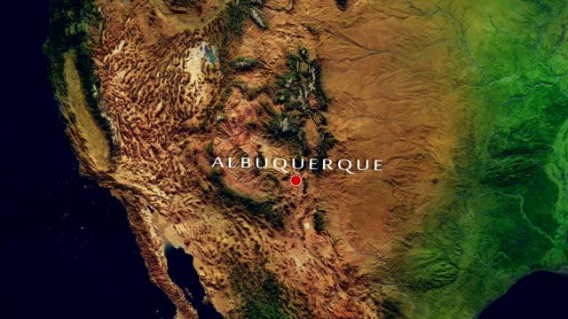 Albuquerque 4K Zoom In