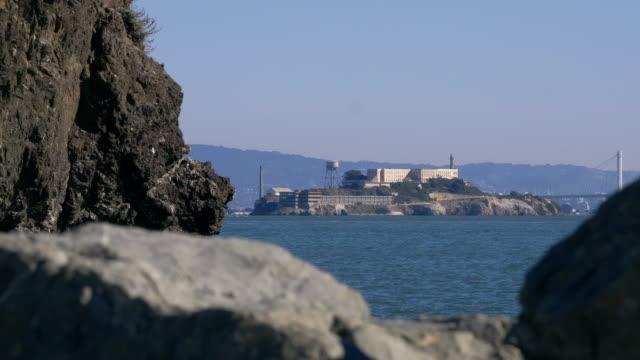 alcatraz island in san fransisco bay - museum stock videos & royalty-free footage