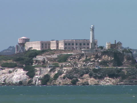ms alcatraz island, san francisco, california, usa - alcatraz island stock videos & royalty-free footage