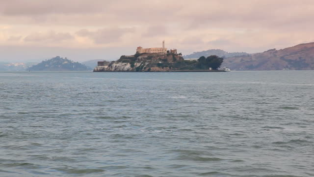 alcatraz island - alcatraz island stock videos & royalty-free footage