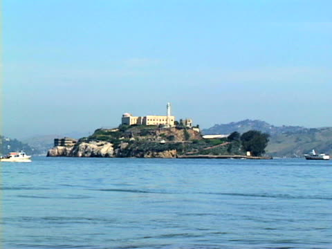 alcatraz - アルカトラズ島点の映像素材/bロール