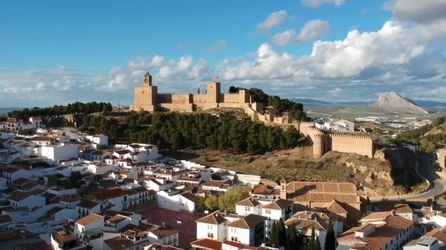 vídeos y material grabado en eventos de stock de alcazabar of antequera, andalusia, spain - escena no urbana