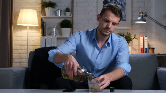 alcohol abuse - alcohol abuse stock videos & royalty-free footage