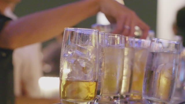 alcohol bar - non urban scene stock videos & royalty-free footage