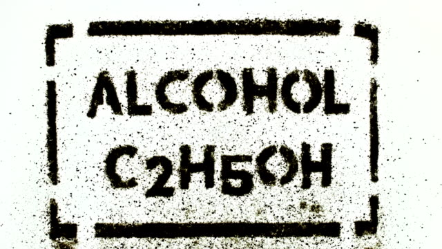 alcohol plate - drawing artistic product stock videos & royalty-free footage