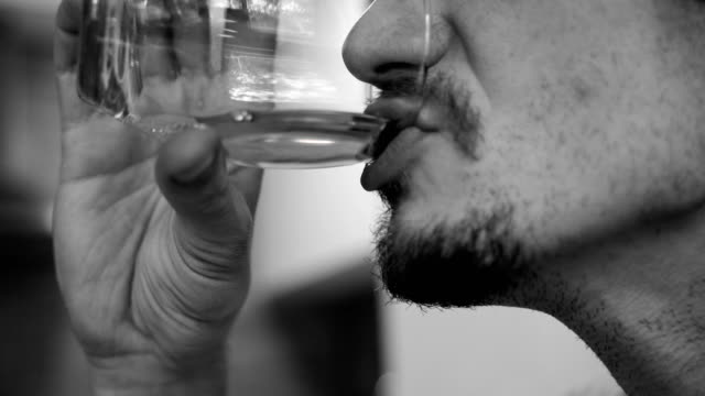 alcoholism, alcohol addiction and people concept -b roll - alcohol abuse stock videos & royalty-free footage