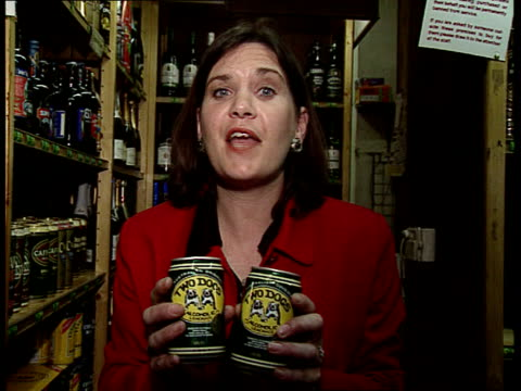 alcopops sale investigation itn london bremner intvws young men about drink they are a nice flavour but too expensive cider is cheaper i/c - expense stock videos & royalty-free footage