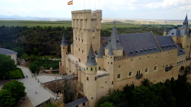 alcázar of segovia - segovia stock videos & royalty-free footage