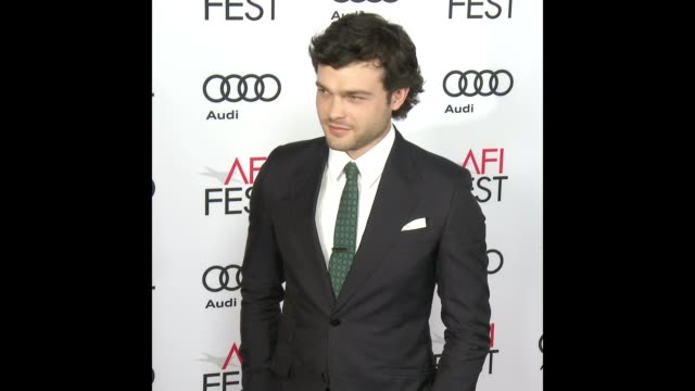 Alden Ehrenreich at Audi Celebrates Opening Night of 'Rules Don't Apply' At AFI Fest 2016