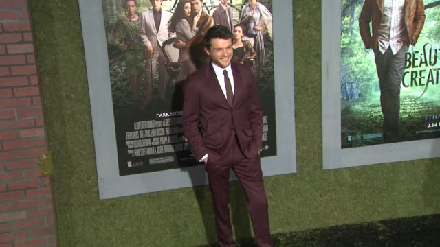 Alden Ehrenreich at Beautiful Creatures Los Angeles Premiere 2/6/2013 in Hollywood CA