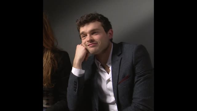 Alden Ehrenreich at the Beautiful Creatures Interview