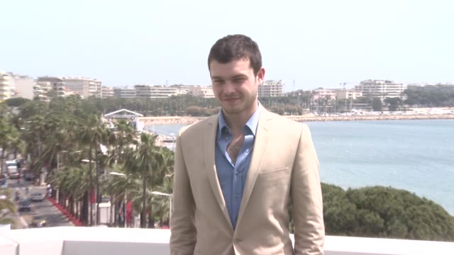 Alden Ehrenreich at the Cannes Film Festival 2009 Francis Ford Coppola Photocall at Cannes