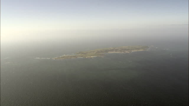 alderney - aerial view - helicopter filming,  aerial video,  cineflex,  establishing shot,  guernsey - guernsey stock videos and b-roll footage