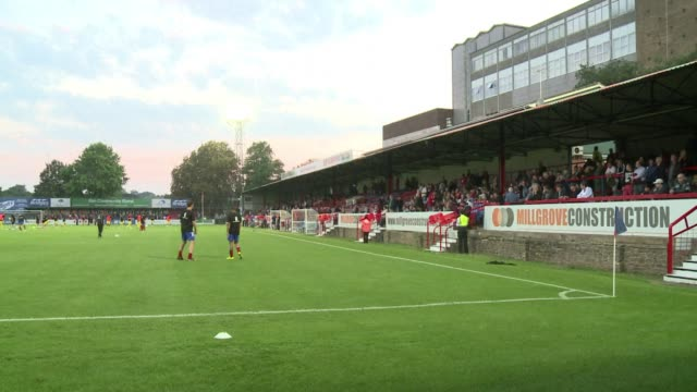Aldershot Town may be a world away from the Premier League glamour of English football giants Chelsea nearby but for the small band of diehards who...