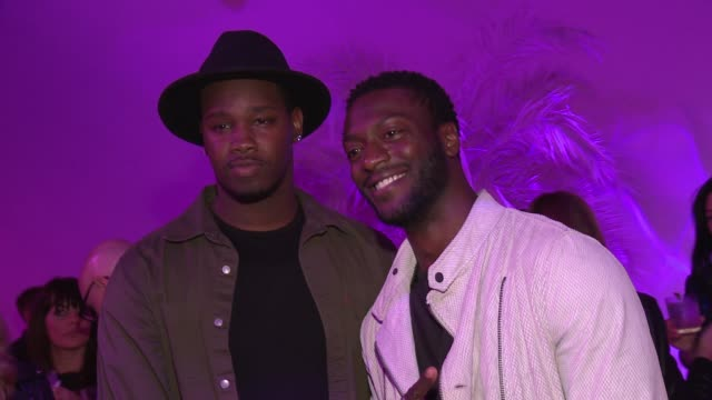 the latest 1e01e 14662 Aldis Hodge at adidas Originals  PHARRELL WILLIAMS Pink Beach Launch SS16  on May
