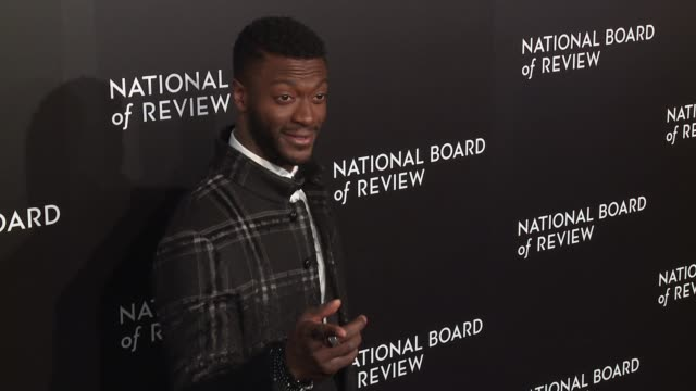 aldis hodge at national board of review gala at cipriani 42nd street on january 04 2017 in new york city - cipriani manhattan stock videos & royalty-free footage