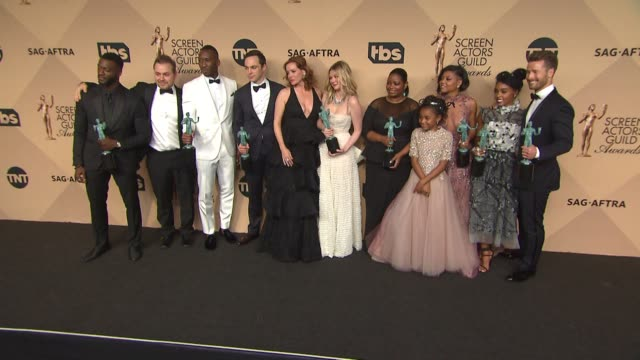 aldis hodge theodore melfi mahershala ali jim parsons kimberly quinn kirsten dunst octavia spencer saniyya sidney taraji p henson janelle monae and... - taraji p. henson stock videos and b-roll footage