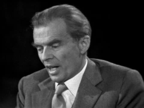 aldous huxley talks about the problem of rendering the issues of today into artistic forms. - creativity stock videos & royalty-free footage