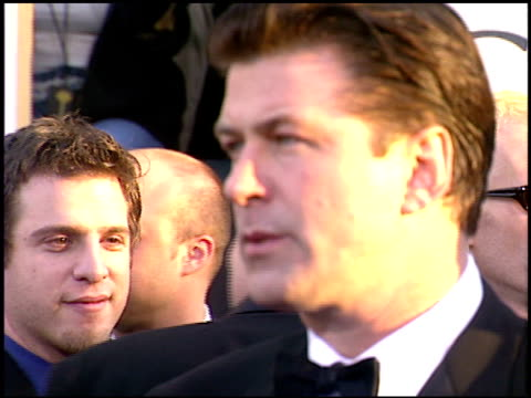 alec baldwin at the 2003 golden globe awards at the beverly hilton in beverly hills california on january 19 2003 - alec baldwin stock videos and b-roll footage