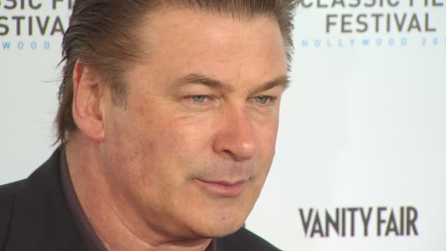 alec baldwin at the tcm classic film festival opening night screening of 'a star is born' at hollywood ca - alec baldwin stock videos & royalty-free footage
