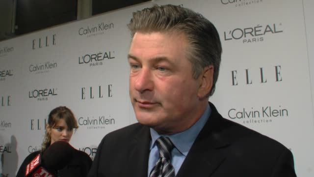 alec baldwin on being here, on julie andrews. at the elle's 16th annual women in hollywood tribute at beverly hills ca. - julie andrews stock videos & royalty-free footage