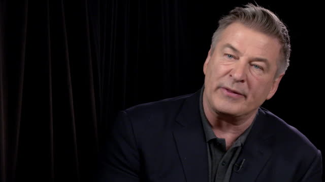 interview alec baldwin talks about his character in the movie at the public press day at the whitby hotel on april 01 2019 in new york city - alec baldwin stock videos & royalty-free footage