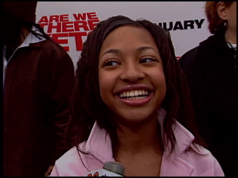 aleisha allen at the 'Are We There Yet' Premiere on January 9 2005