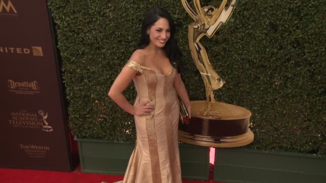 Alejandra Oraa at 43rd Annual Daytime Emmy Awards at Westin Bonaventure Hotel on May 01 2016 in Los Angeles California