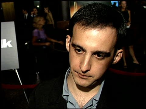 alejandro amenabar at the premiere of 'the others' at dga theater in los angeles california on august 7 2001 - dga theater stock videos & royalty-free footage