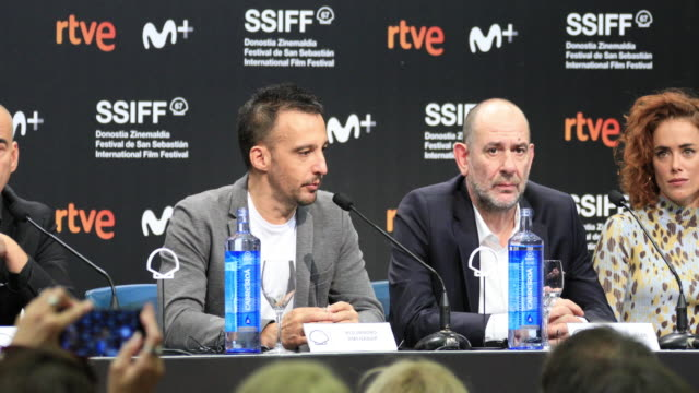 ESP: 'While At War (Mientras Dure La Guerra)' Press Conference - 67th San Sebastian Film Festival