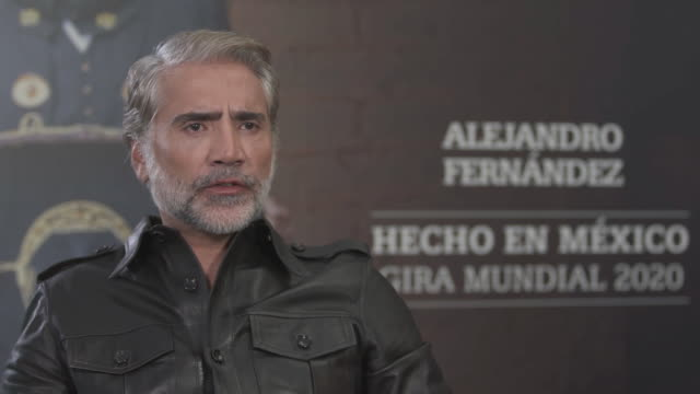 stockvideo's en b-roll-footage met alejandro fernandez mexican singer presents world tour in madrid - popmuziek tournee