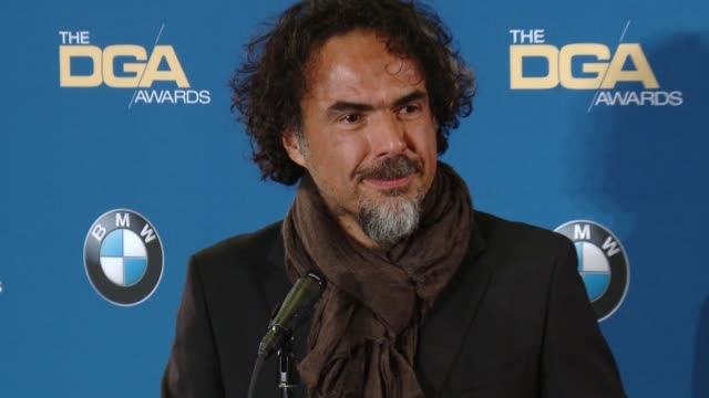 Alejandro G Inarritu at the Hyatt Regency Century Plaza on February 07 2015 in Century City California