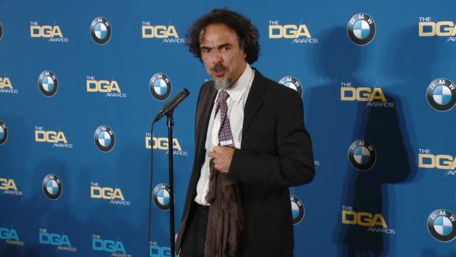 SPEECH Alejandro G Inarritu at the Hyatt Regency Century Plaza on February 07 2015 in Century City California