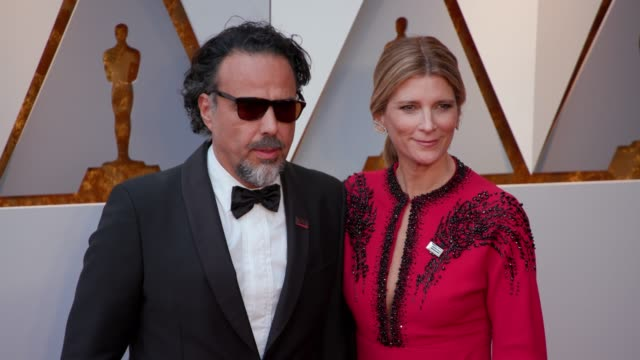 Alejandro Gonzalez Inarritu and Maria Eladia Hagerman at Dolby Theatre on March 04 2018 in Hollywood California