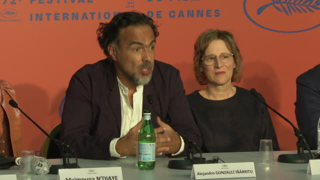 alejandro gonzalez inarritu at palais des festivals on may 14 2019 in cannes france - international cannes film festival stock videos & royalty-free footage