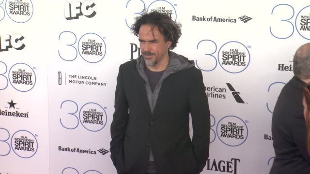 Alejandro Gonzalez Inarritu at the 30th Annual Film Independent Spirit Awards Arrivals at Santa Monica Beach on February 21 2015 in Santa Monica...