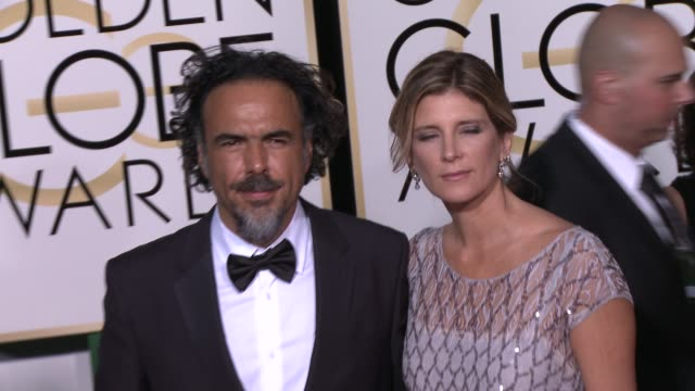 Alejandro Gonzalez Inarritu at the 72nd Annual Golden Globe Awards Arrivals at The Beverly Hilton Hotel on January 11 2015 in Beverly Hills California
