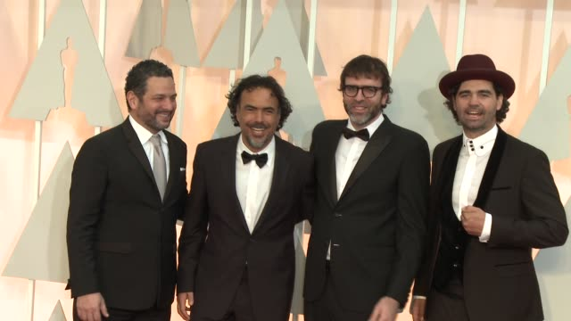 Alejandro Gonzalez Inarritu at the 87th Annual Academy Awards Arrivals at Dolby Theatre on February 22 2015 in Hollywood California