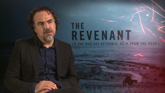 INTERVIEW Alejandro Gonzalez Inarritu on suffering well making the food finding the reality of the time at 'The Revenant' Junket on December 15 2015...