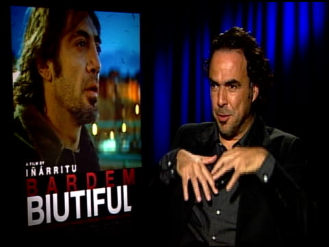 Alejandro Gonzalez Inarritu on what he thinks the audience will take away from this film/story at the 'Biutiful' Junket at Los Angeles CA