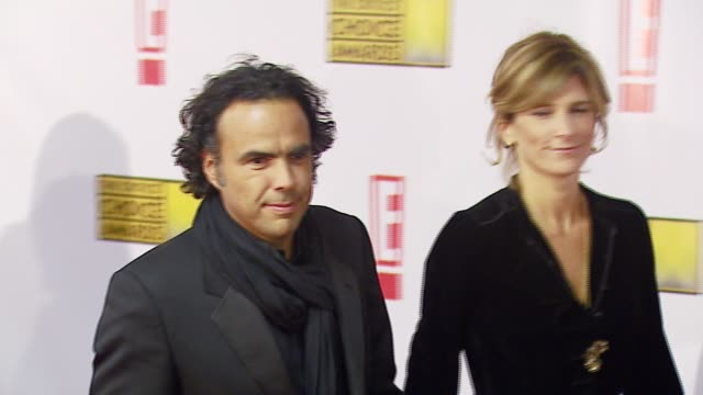 Alejandro González Iñárritu and guest at the Broadcast Film Critics Association's 2007 Critic's Choice Awards at Santa Monica Civic Auditorium in...