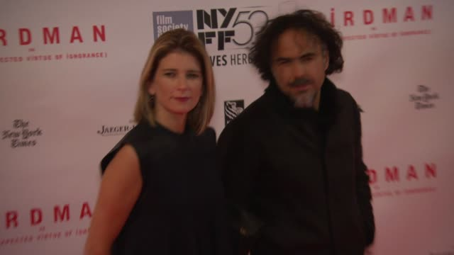 Alejandro González Iñárritu at 'Birdman Or The Unexpected Virtue Of Ignorance' New York Film Festival Premiere Presented By Fox Searchlight Pictures...